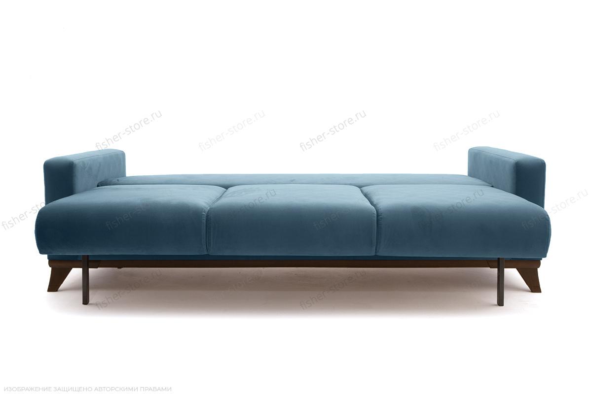 Прямой диван Джерси-2 с опорой №6 Maserati Blue Спальное место