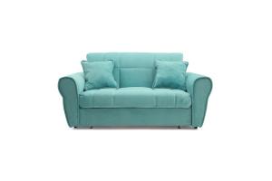 Прямой диван Виа-9 Infiniti Light blue Вид спереди