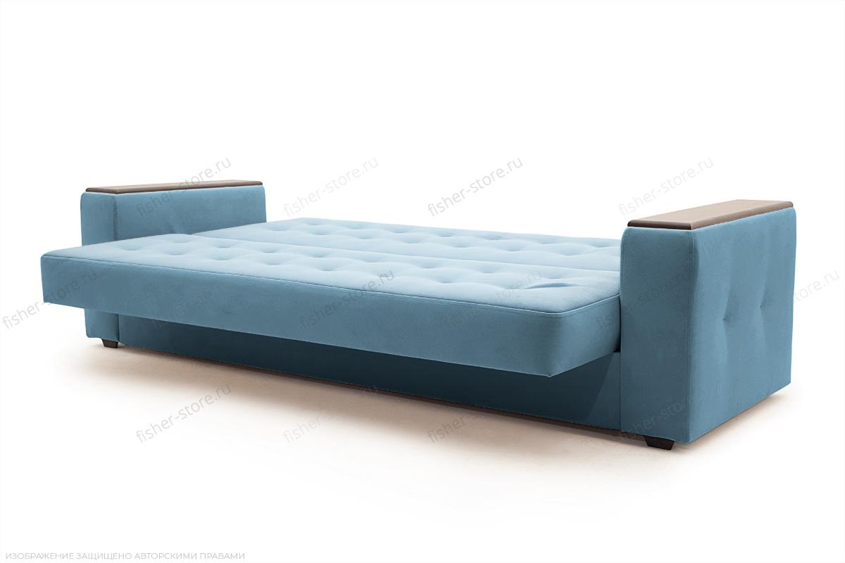 Прямой диван Берри люкс Maserati Blue Спальное место