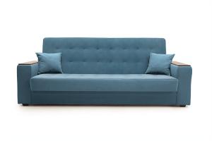 Прямой диван Берри люкс Maserati Blue Вид спереди