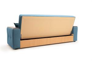 Прямой диван Берри люкс Maserati Blue Вид сзади