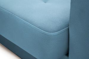 Прямой диван Берри люкс Maserati Blue Текстура ткани