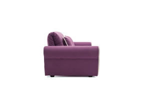 Прямой диван Виа-9 Maserati Purple + Beight Вид сбоку