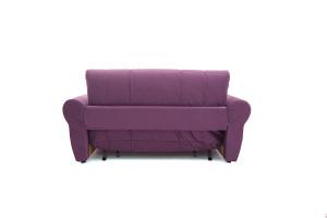 Прямой диван Виа-9 Maserati Purple + Beight Вид сзади