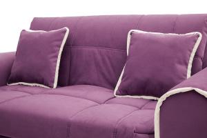 Прямой диван Виа-9 Maserati Purple + Beight Подушки