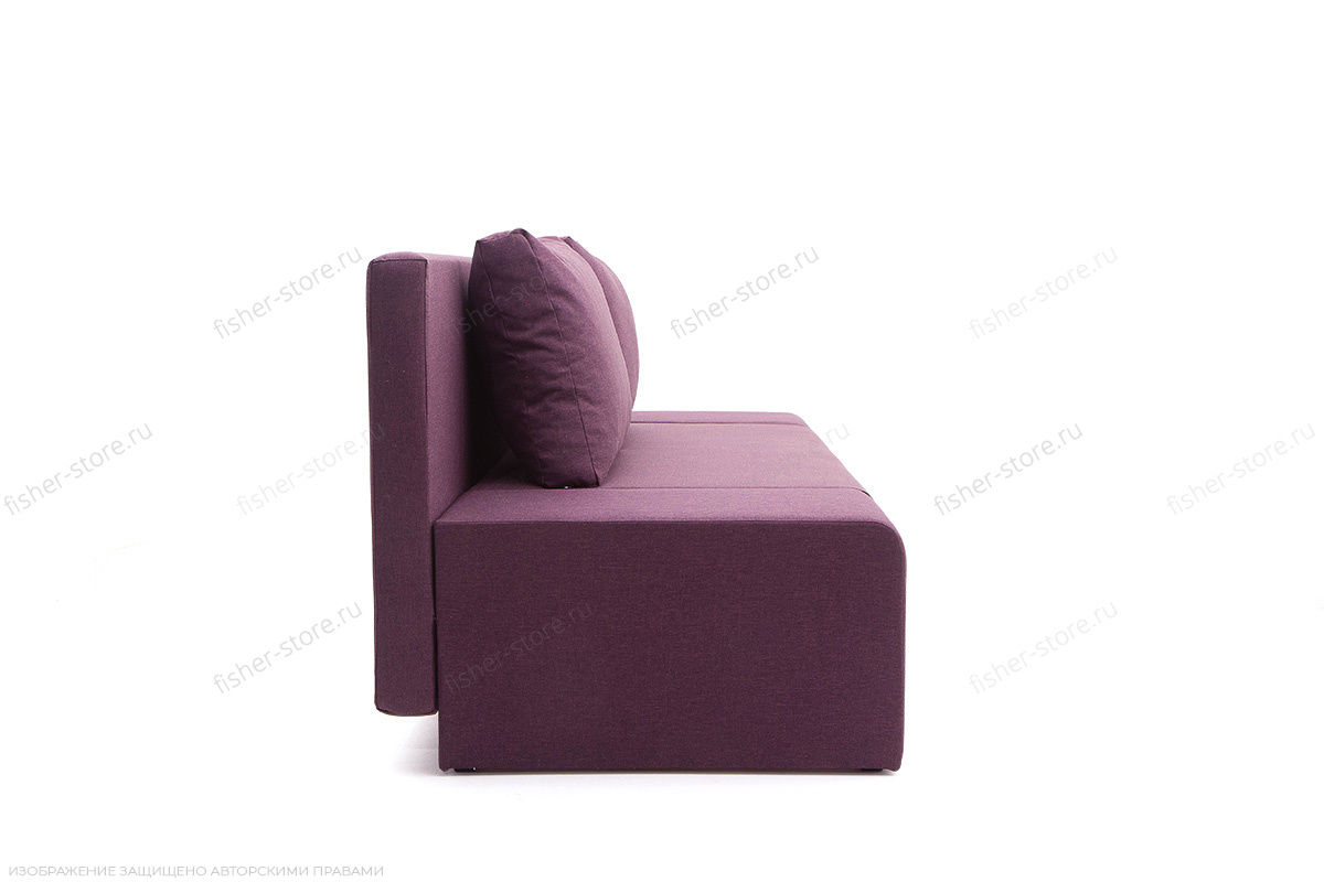 Прямой диван Санремо Dream Violet Вид сбоку