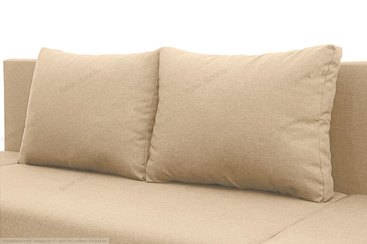 Прямой диван Санремо Dream Dark beige Подушки