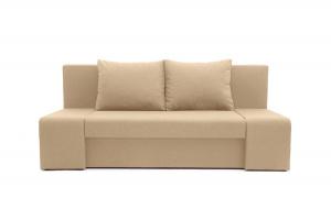Прямой диван Санремо Dream Dark beige Вид спереди