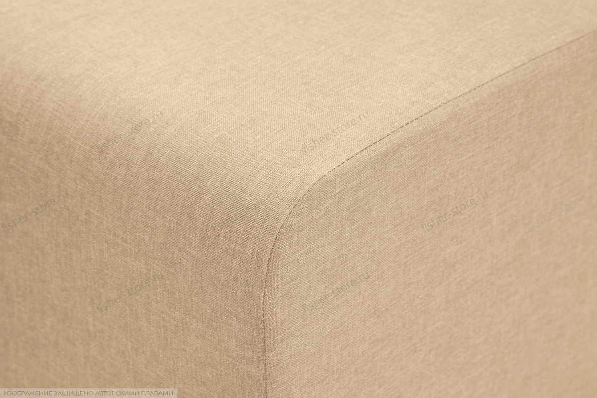 Прямой диван Санремо Dream Dark beige Текстура ткани