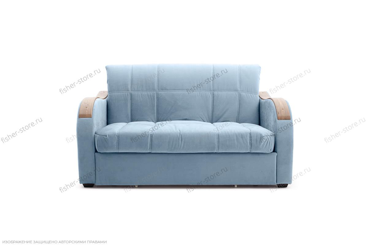 Прямой диван Виа-6 Amigo Blue Вид спереди