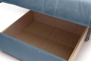 Прямой диван Виа-6 Amigo Blue Ящик для белья