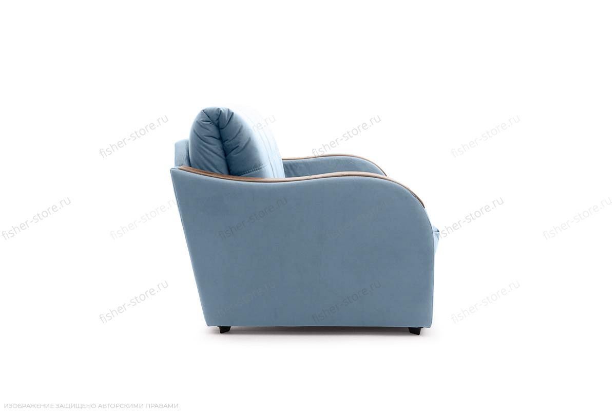 Прямой диван Виа-6 Amigo Blue Вид сбоку