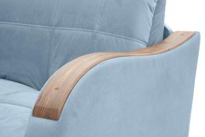 Прямой диван Виа-6 Amigo Blue Подлокотник