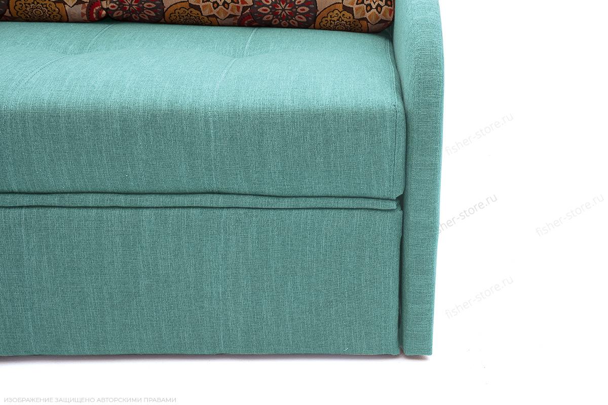 Светлый диван Венеция-4 Orion Blue + History Summer Ножки