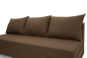Прямой диван еврокнижка Реал Dream Brown Подушки