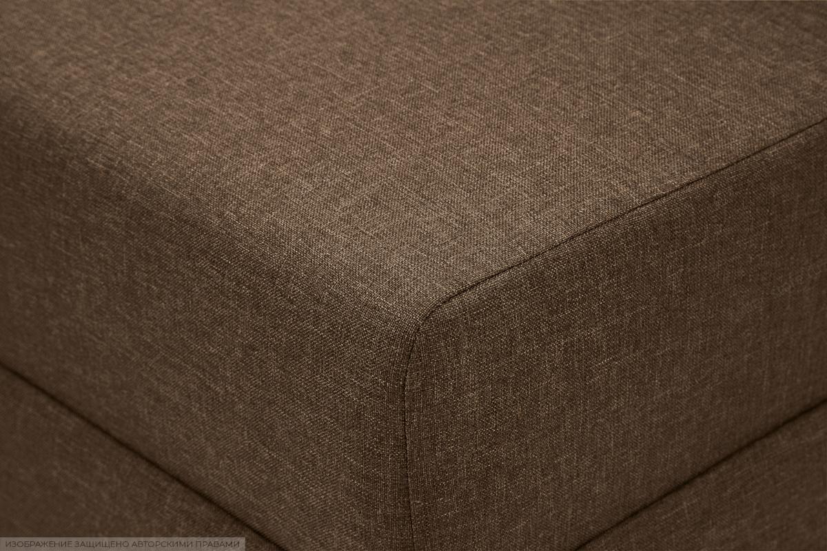 Прямой диван еврокнижка Реал Dream Brown Текстура ткани
