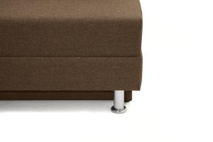 Прямой диван еврокнижка Реал Dream Brown Ножки