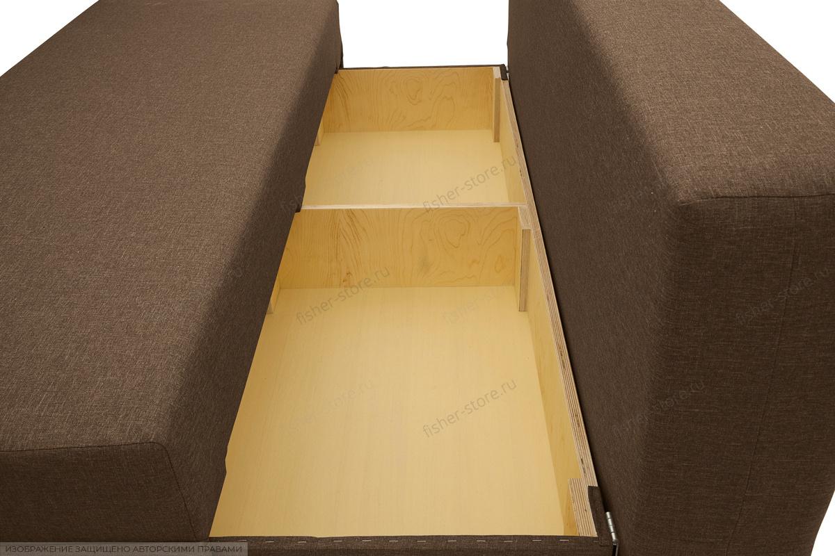 Прямой диван Реал Dream Brown Ящик для белья