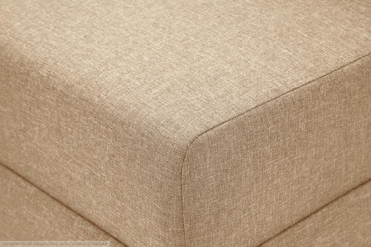 Прямой диван Реал Dream Dark beige Текстура ткани