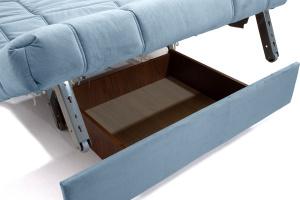Прямой диван Виа-4 Amigo Blue Ящик для белья