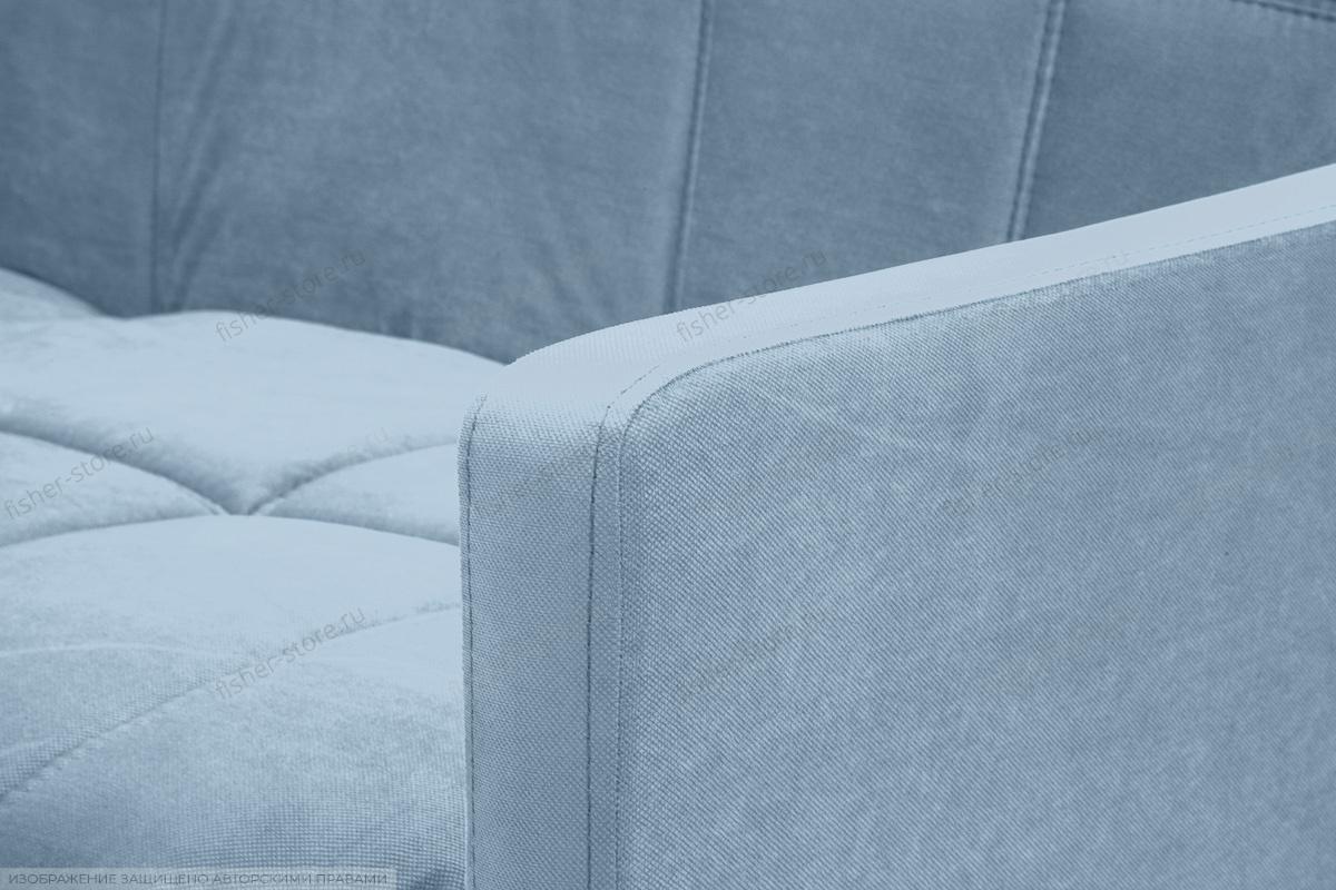 Прямой диван Виа-4 Amigo Blue Подлокотник