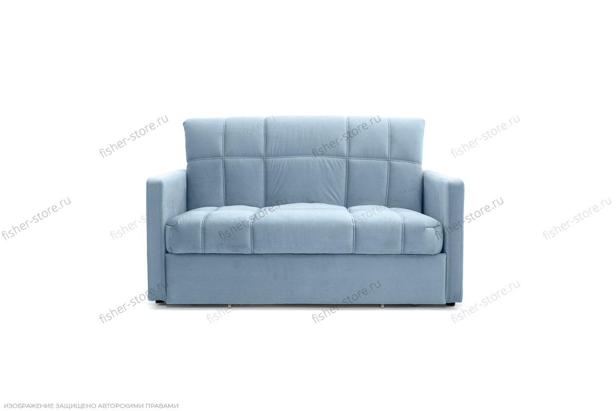 Прямой диван Виа-4 Amigo Blue Вид спереди