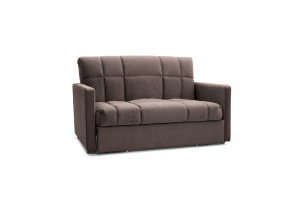 Прямой диван Виа-4 Amigo Chocolate Вид по диагонали