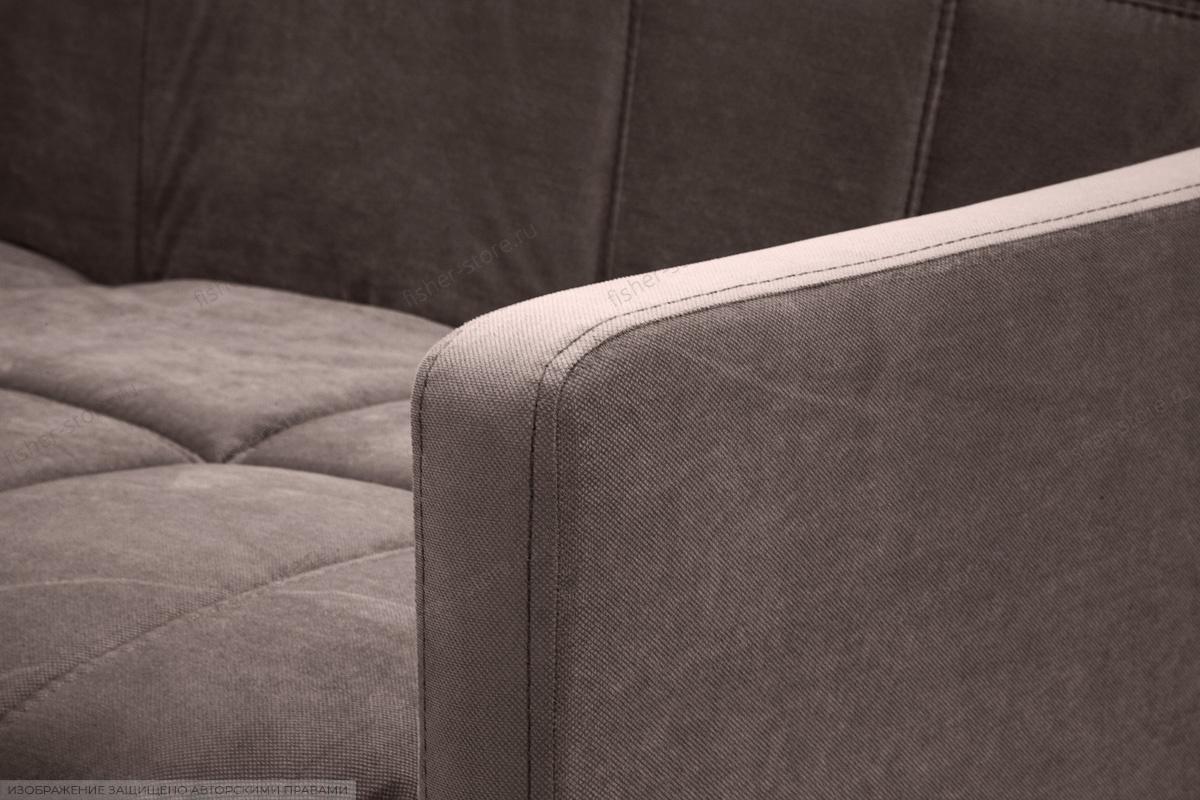 Прямой диван Виа-4 Amigo Chocolate Подлокотник