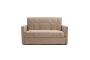 Прямой диван Виа-4 Amigo Latte Вид спереди