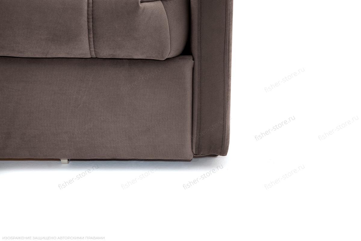 Прямой диван Виа-4 Amigo Chocolate Ножки