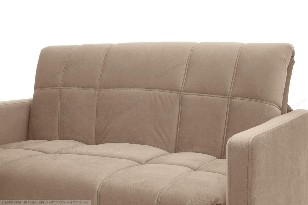 Прямой диван Виа-4 Amigo Latte Текстура ткани