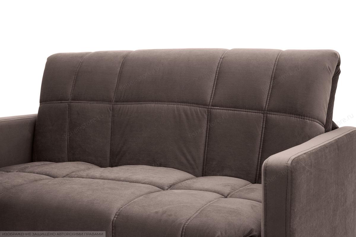 Прямой диван Виа-4 Amigo Chocolate Текстура ткани