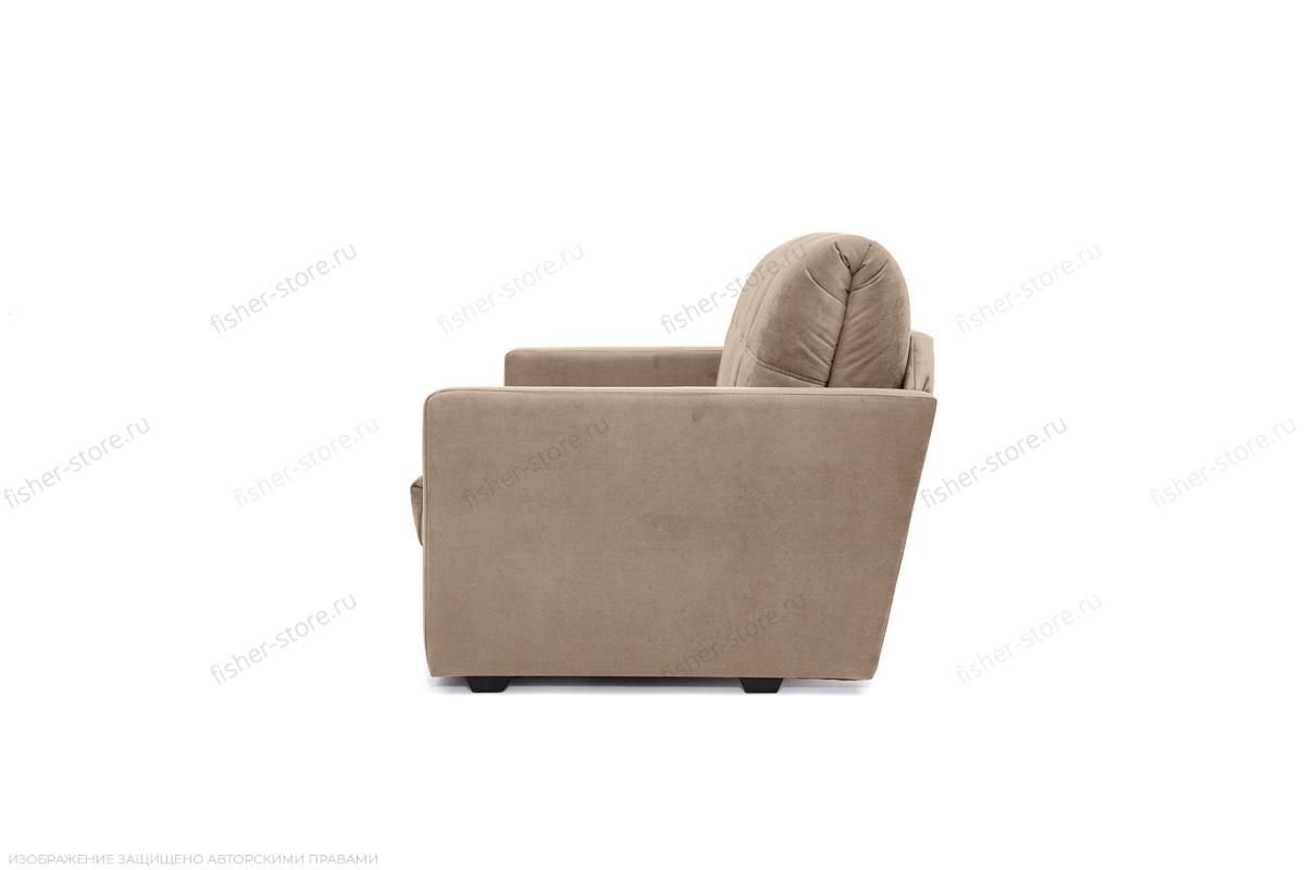 Прямой диван Виа-4 Amigo Latte Вид сбоку