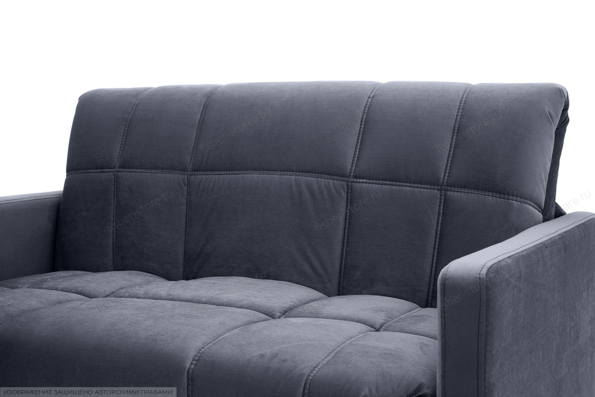 Прямой диван Виа-4 Amigo Navy Подлокотник