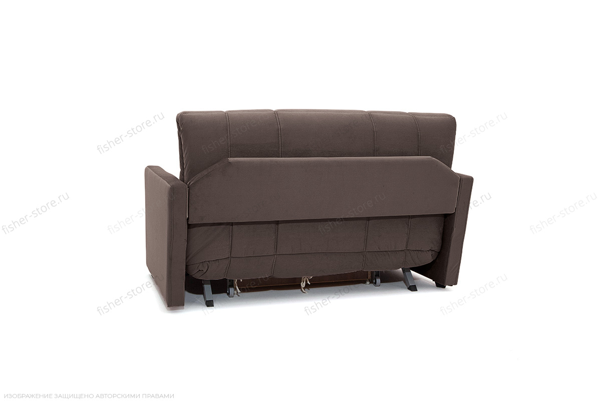 Прямой диван Виа-4 Amigo Chocolate Вид сзади
