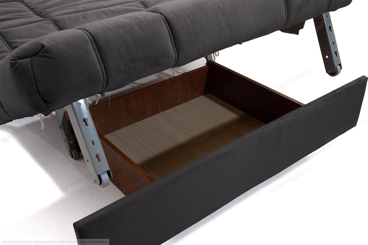 Прямой диван Виа-4 Amigo Grafit Ящик для белья
