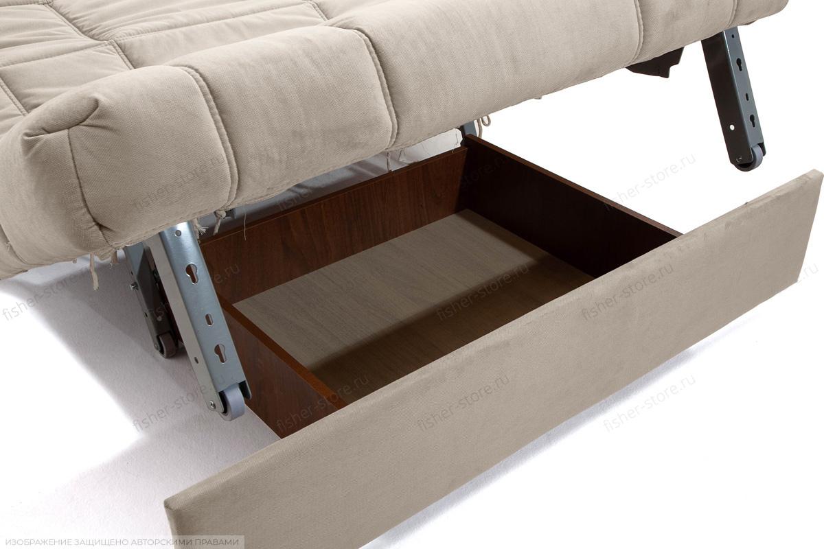 Прямой диван Виа-4 Amigo Cream Ящик для белья