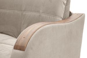 Прямой диван Виа-6 Amigo Cream Подлокотник