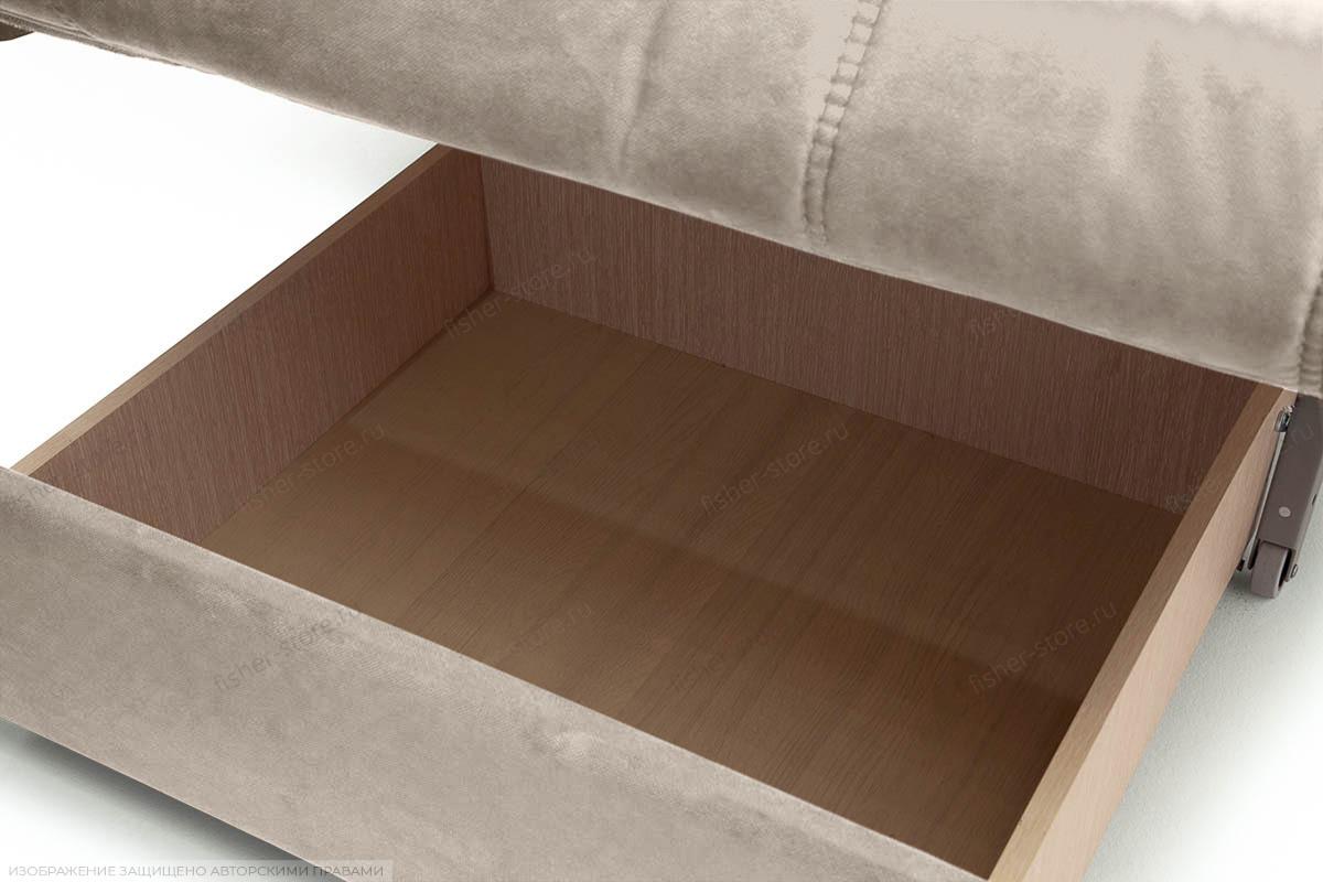 Прямой диван Виа-6 Amigo Cream Ящик для белья