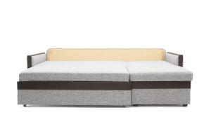 Угловой диван Джексон с накладками МДФ Big Grey + TV Спальное место