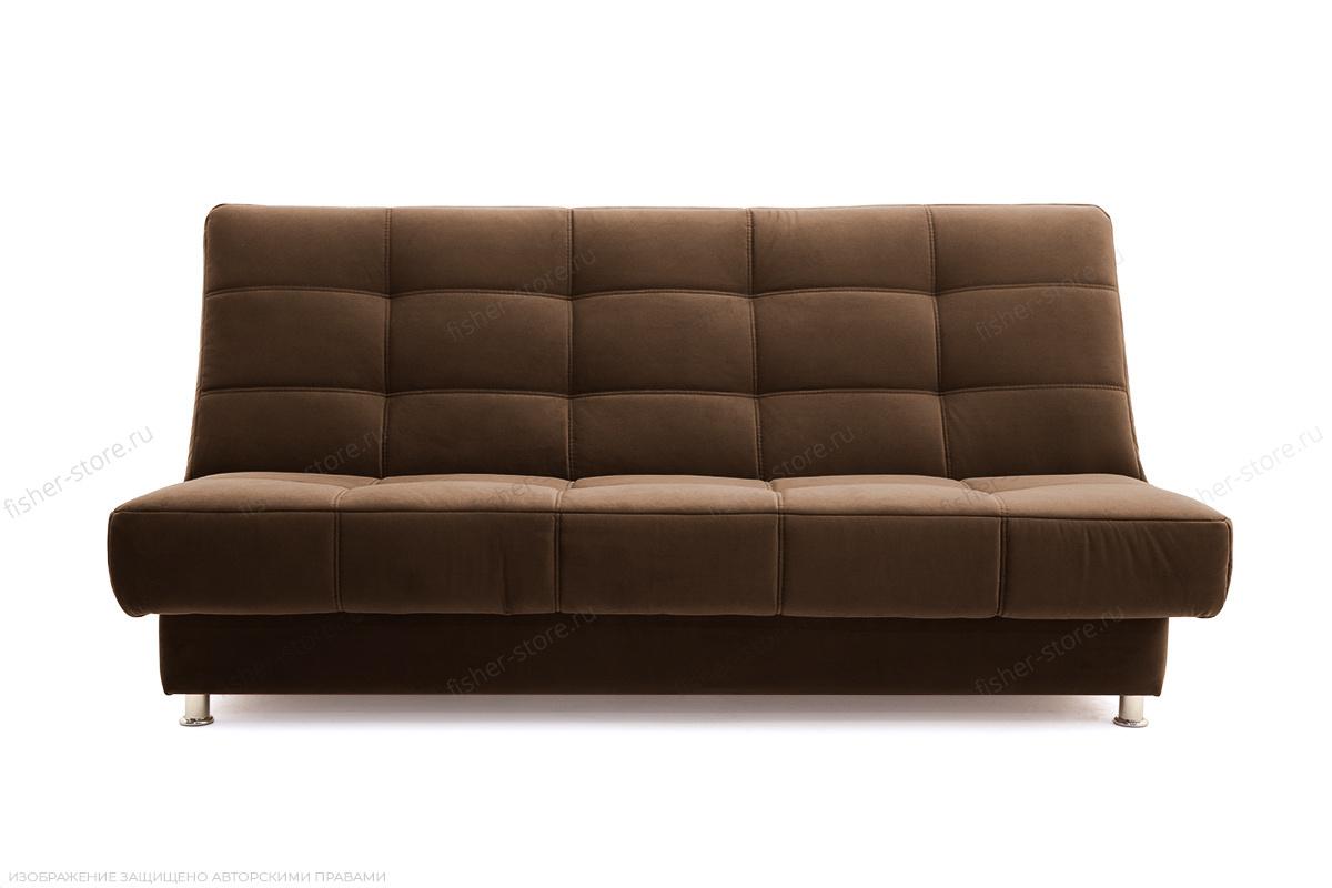 Прямой диван Марсель Maserati Brown Вид спереди