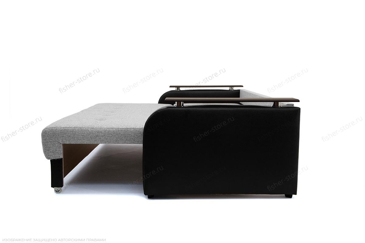 Прямой диван Маракеш Dream Grey + Sontex Black Спальное место