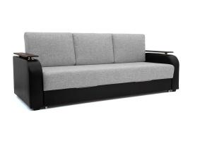 Прямой диван Маракеш Dream Grey + Sontex Black Вид по диагонали