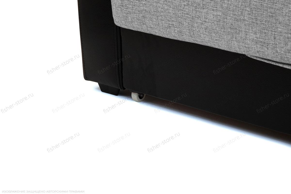 Прямой диван Маракеш Dream Grey + Sontex Black Ножки