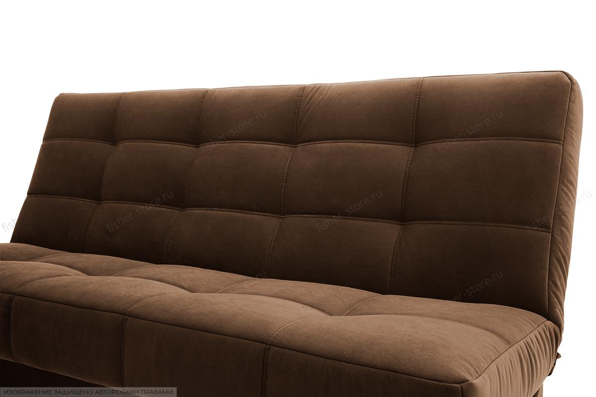 Прямой диван Марсель Maserati Brown Текстура ткани