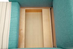 Кресло Этро-2 Oion Blue Ящик для белья
