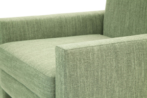 Кресло Этро с опорой №2 Orion Green Текстура ткани