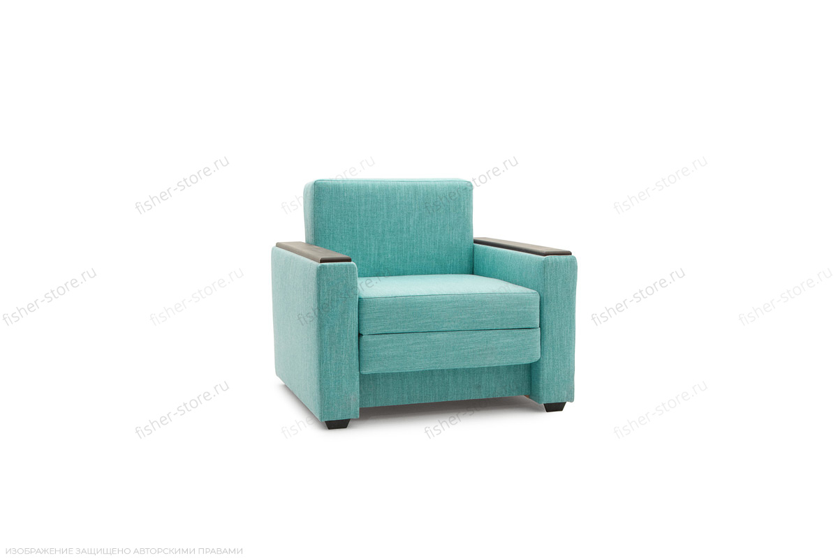 Кресло Этро-2 Oion Blue Вид по диагонали