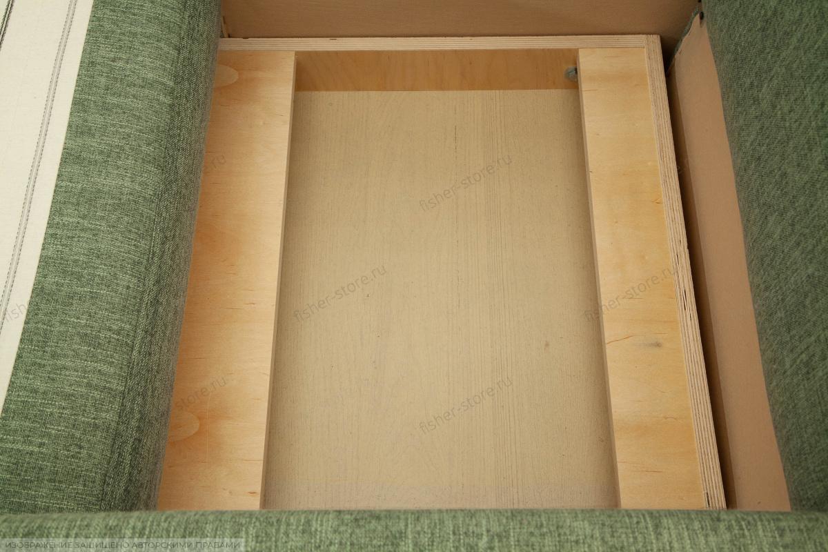 Кресло Этро с опорой №2 Orion Green Ящик для белья