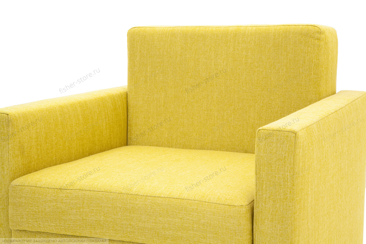 Кресло Этро Orion Mustard Текстура ткани